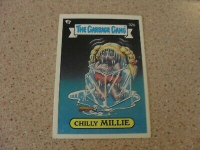 The Garbage Gang series 1 (AUS series) 32B CHILLY MILLIE card