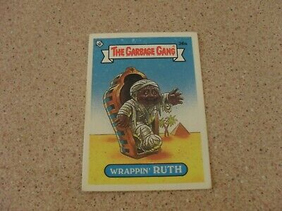 The Garbage Gang series 1 (AUS series) 36A WRAPPIN' RUTH card