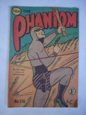 The Phantom  116 Comic   Frew  Australian Publication