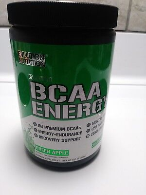 Evlution Nutrition Bcaa Energy Green Apple 30 servings