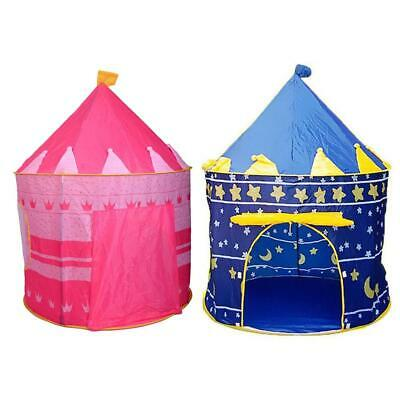 Portable Girls Kids Play Tent Playhouse Baby Children House Princess Toys Castle