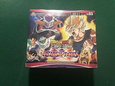 Dragon Ball Super Clash of Fates Sealed Booster Box! Free Shipping!