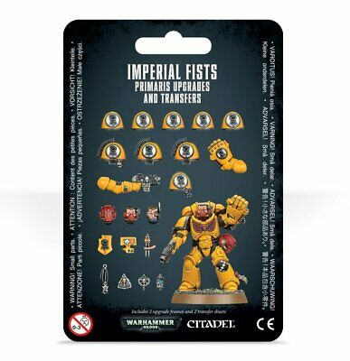 Warhammer 40k Imperial Fists Primaris Upgrades and Transfer  Pre order is all