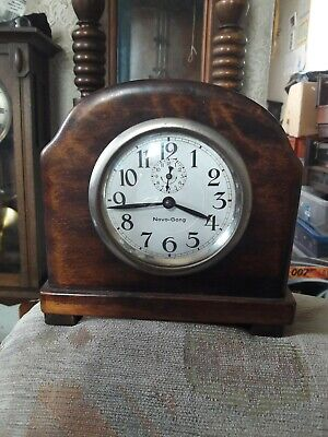 Vintage German Novo - Gong Mantle Clock