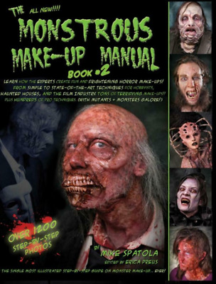 Monstrous Make Up Manual 2 Original PDF CD