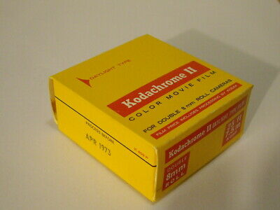 Vintage Kodachrome Ii Color Movie Film Unopened