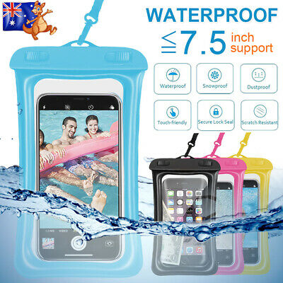 Floating Waterproof Underwater Phone Case Dry Bag Pouch Samsung S10 S9 S8 S7 S6