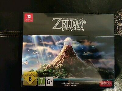 Legend Of Zelda Link's Awakening Limited Edition - New sealed - Nintendo Switch