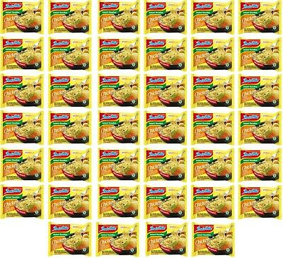 Indomie Chicken Nudelsuppe Karton: 40 x 70g Instant Huhn Nudelsuppen Nudel Suppe