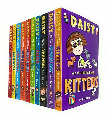 Daisy Fiction 10 Books Collection Set by Kes Gray Kittens, Sports Day, Vampires
