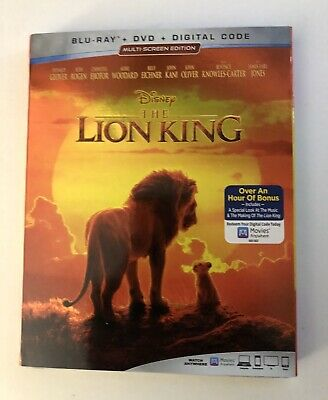 Lion King 2019 Live Action Disney - Blu-Ray + DVD + DIGITAL Releases 10/22/19