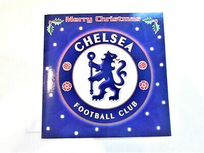 1 New Chelsea Official FC Christmas Card + Envelope