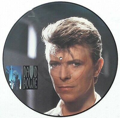 DAVID BOWIE LOVING THE ALIEN Picture Disc from TONIGHT  NEUF TRES RARE