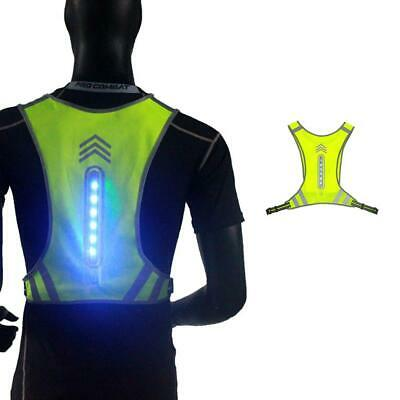 Cycling LED Wireless Vest Reflective USB Outdoor Night Running Safety Tops