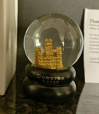 Downton Abbey Exclusive Movie Fan Event Snow Globe