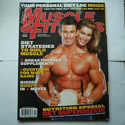 Muscle and fitness magazine April 2004