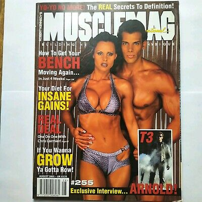 Musclemag Bodybuilding Magazine Aug 2003 Frank Sepe