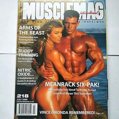 Musclemag Bodybuilding Magazine July 2000 Frank Sepe on cover
