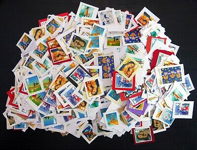 GB Unfranked on Paper Face £547 - 2nd Class Xmas x 897 Stamps NS194