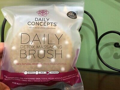 Daily Concepts Detox Massaging Brush!!  New!!