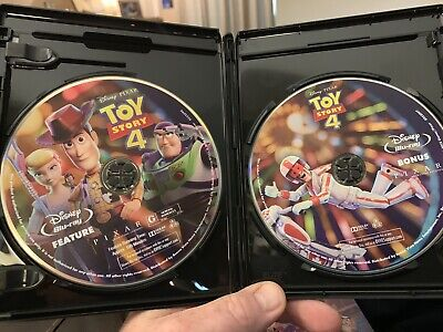 Toy Story 4 (Blu-ray Disc, 2019) - Please Read