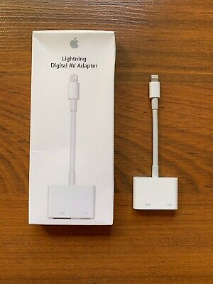 Genuine Apple - Lightning Digital A/V Adapter HDMI