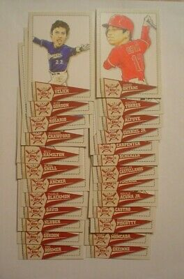 2019 Topps Big League Star Caricature Reproductions Set