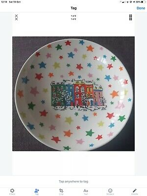 Cath Kidston CHRISTMAS TOWNHOUSE BOWL Very Hard To Find