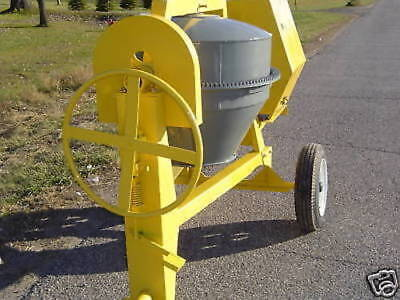 Bull Dog BD2500 9CF concrete cement mixer Tow Behind 13hp Electric Start Engine