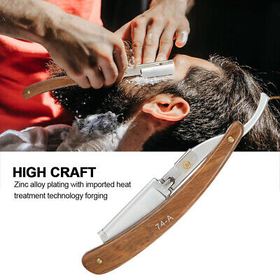 Barber Straight Cut Throat Salon Shaving Razor Beard Shaver Rasoi Hair Shaving
