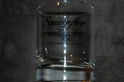 Old Smuggler Finest Scotch Whisky Glass Excellent Condition