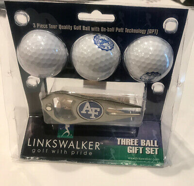 3 Ball Gift Pack with Hat Trick Divot Tool NCAA Ohio State Buckeyes