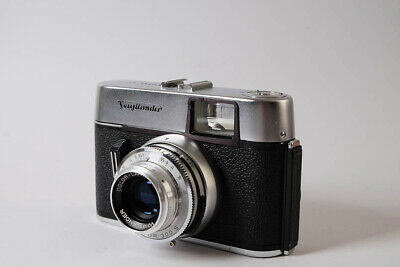 Vito C Voigtlander camera with leather case.