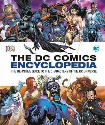 NEW DC Comics Encyclopedia Updated Edition By Matthew K. Manning Hardcover