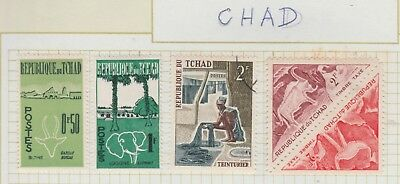 CHAD Collection Textile, Animals , etc, as per scan USED MH  #