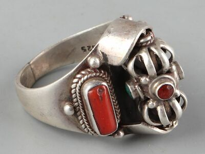 Chinese Exquisite Handmade silver Ring
