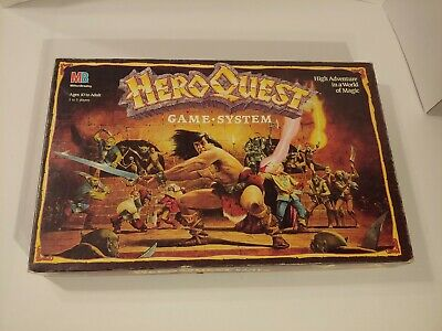 Hero quest board game complete 1990 Original and Only Owner Great Condition!!