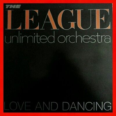 PROMO ● NM ● LEAGUE UNLIMITED ORCHESTRA Human League LOVE & DANCING LP 1982 A&M