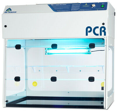 "PCR Workstation- 36"" / 914mm Wide Flow Hood, New with HEPA Filter"