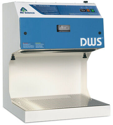 "Downdraft Fume Hood- 24"" / 610mm Wide Downflow Workstation- New with Filter"