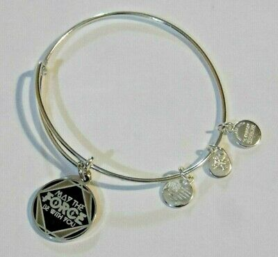 ALEX AND ANI Disney Star Wars May the Force Be With You Charm Bracelet (2016)