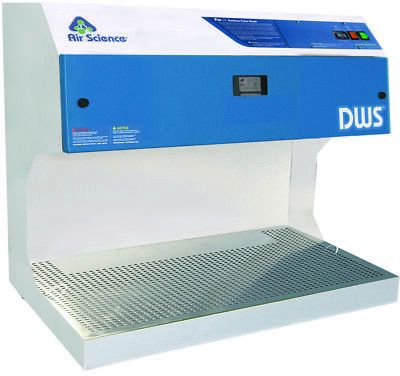 "Downdraft Fume Hood- 36"" / 914mm Wide Downflow Workstation- New with Filter"