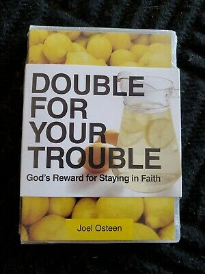 Joel Osteen ~ Double For Your Trouble ~ God's Reward For Staying In Faith ~ DVD