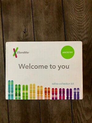 23andMe DNA Test Ancestry Genetic Set Service with at-Home Saliva Collection Kit
