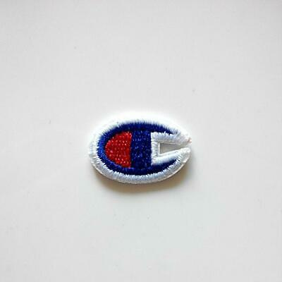 Champion Logo Iron On Patch Embroidery DIY