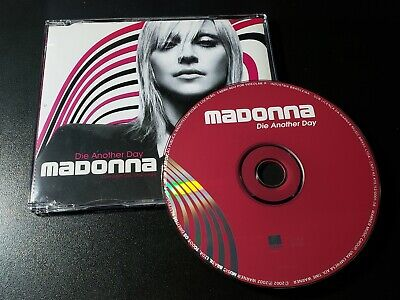 Madonna Die Another Day REMIXES Brazil Promo Single COLORED CD - madame x i rise