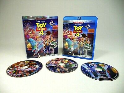 Toy Story 4 Blu-Ray DVD Slipcover (No Digital) Movie 2019