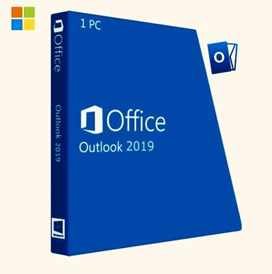 Microsoft Outlook 2019 For Windows Retail  - 1 PC