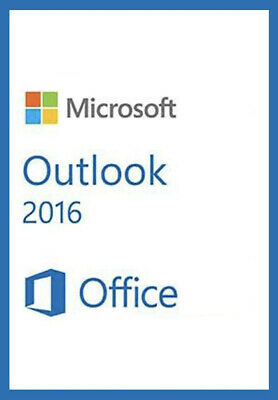 Microsoft Outlook 2016 For Windows Retail - 1 PC