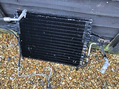 Ford Sierra Sapphire RS Cosworth Aircon Radiator + Pipework Pipes Escort Fiesta